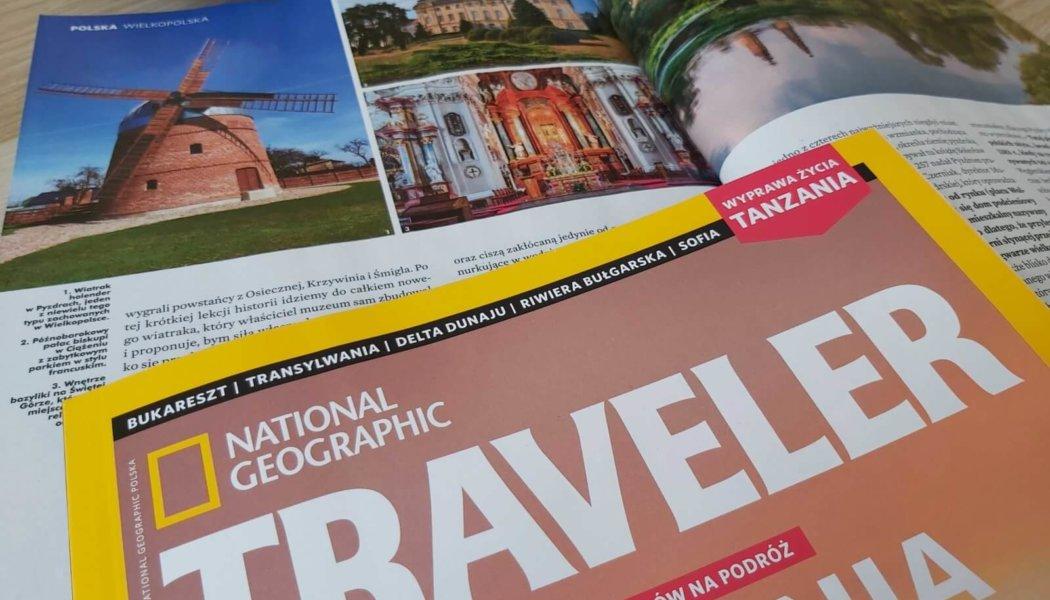 Kraina wiatraków w National Geographic Traveler