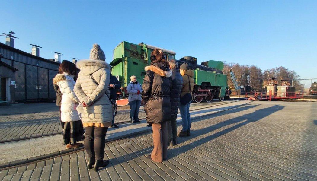 Japońscy touroperatorzy w Wolsztynie
