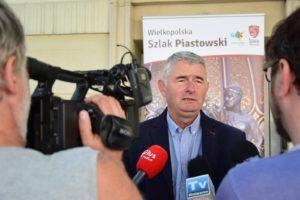 Konferencja prasowa z udziałem prezesa Wiktora