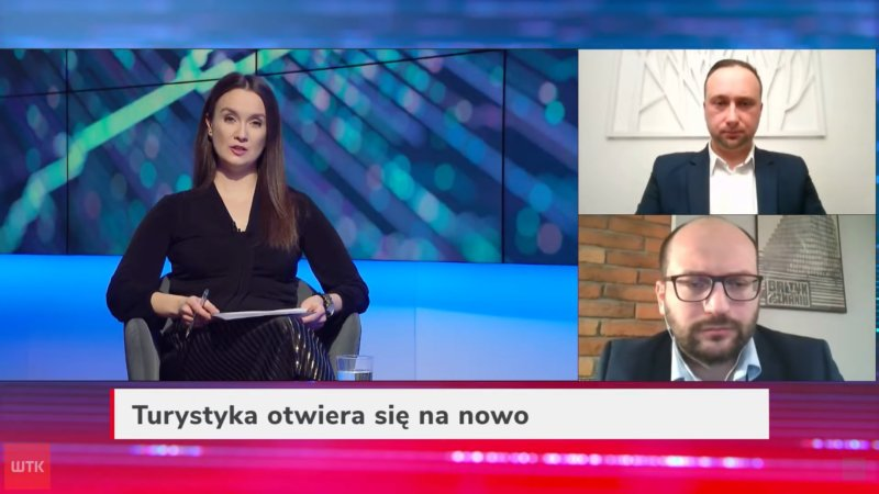 wywiad w telewizji wtk