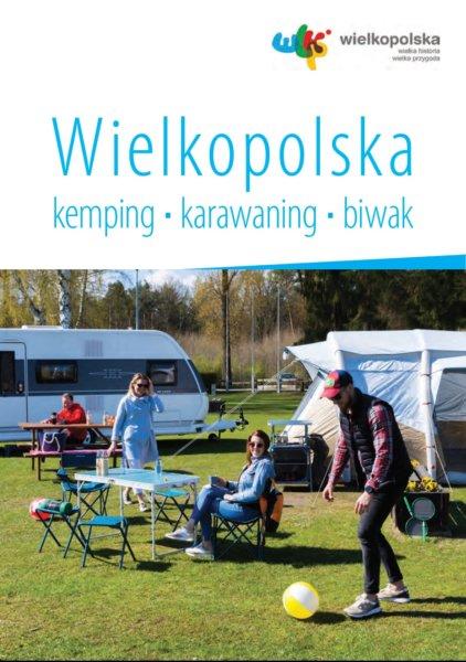 okładka folderu o kempingach