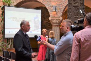 Konferencja na Szlaku Piastowskim