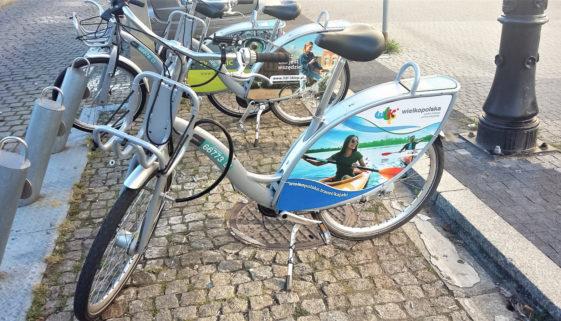 Rowery miejskie w Poznaniu