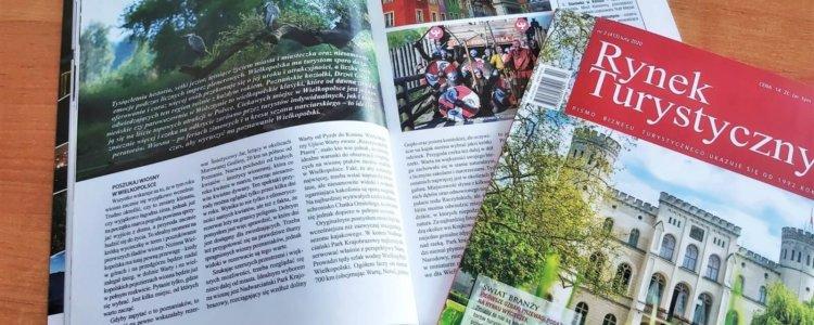 Wiosna w Wielkopolsce w magazynie Rynek Turystyczny